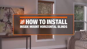 how to install inside mount horizontal window blinds decor how