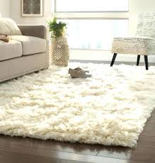 tremendeous white fluffy area rug plush 17694 with regard to large intended for rugs prepare 4