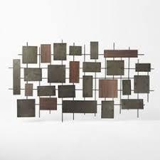 west elm hammered metal wall art