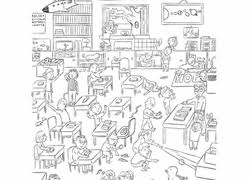 Free printable hidden picture puzzles and worksheets. 3 000 Free Printable Coloring Pages Education Com