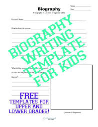 Blank Biography Report Outline Template Download Fill In The
