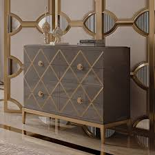art deco inspired furniture. Italian Designer Lacquered Art Deco Inspired Chest Of Drawers Furniture Juliettes Interiors