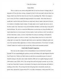 day diet analysis assignment essays studymode diet analysis assignment essay haryana marriage land