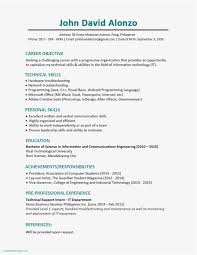 Free Printable Resume Elegant Printable Resume Worksheet ...