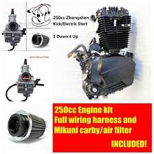 zongshen 250cc ohc engine motor manual clutch kit wiring harness image is loading zongshen 250cc ohc engine motor manual clutch kit