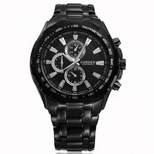men s military style stainless steel wrist watch fakurma uk
