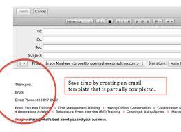 Email Etiquette Bruce Mayhew Blog Training And Development