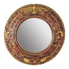 Design Toscano Mirror Egyptian Grand Scale Wall Sculpture Mirror