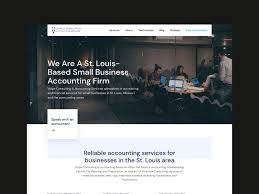 St Louis Web Design Accounting Firm Web Design By Matt Mckenna For Delt On Dribbble