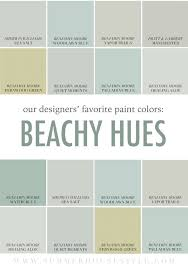 Paint Interior Colors the best beachy paint colors picked by the interior designers at 3708 by uwakikaiketsu.us