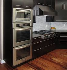 positioning of wall oven microwave stove top