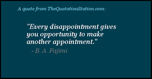 Ba Quote Awesome Quotes By B A Fajimi The Quotation Station