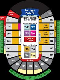 Gamblers Hockey Seating Chart Resch Center Seating Chart Seating Chart