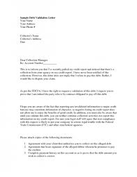 Payment History Letter Template Sample Debt Validation Letter Cover Texas To Credit Bureau