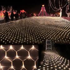 diy lighting for wedding. LED Xmas Holiday Garden Curtain House Window Wall Fairy String Net Lights In Home, Furniture \u0026 DIY, Lighting, Diy Lighting For Wedding I