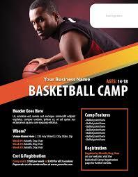 basketball training flyer template basketball camp flyer template ianswer