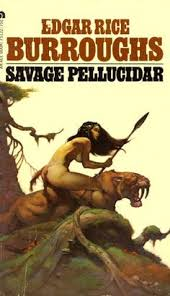 savage pellucidar edgar rice burroughs cover by frank frazetta loved these books