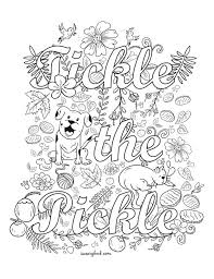 c39e177e0e8d50755da9de719752045a tickle the pickle swear words coloring page from the sweary on adult swear word coloring pages
