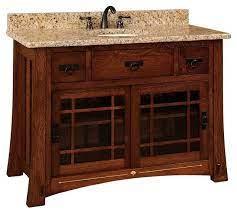 Morgan Bathroom Vanity Craftsman Bathroom Vanities And Sink Consoles By Amish Showroom Houzz