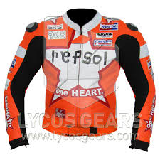 honda repsol one heart motorcycle jacket honda repsol one heart motorbike racing leather jacket