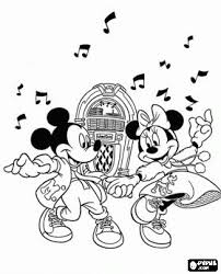 Small Picture 32 best Mickey Minnie images on Pinterest Disney coloring