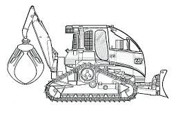 construction coloring pages free printables construction vehicles coloring pages construction equipment coloring pages backhoe loader excavator