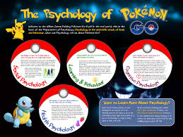 topics for psychology papers psychology paper grading rubric psych  the psychology of pokemon go psychology outreach i created this poster in microsoft publisher most of