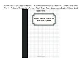 Free Graph Paper Print Graph Paper Online Print Online Free Graph Paper Notebook 1