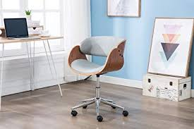 stylish home office desks. Porthos Home Lydia Office Chair, Stylish Desk Height Adjustable, 360 Desks
