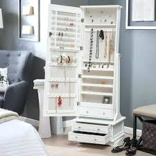 mirror jewelry armoire mirror jewelry affordable and adorable jewelry organizers mirror jewelry armoire