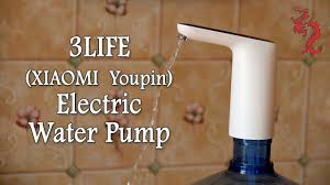 3LIFE <b>XIAOMI</b> Youpin Electric Water Pump // <b>Помпа</b> для воды от ...