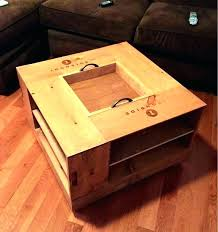 table wine crate coffee table dimensions for box size plans