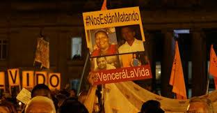 Resultado de imagen para Asesinatos tras la firma de la paz en 2016  en colombia