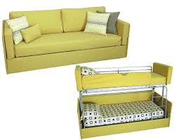 designs couch that turns into bunk beds