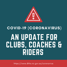 Australia government department of health: Covid 19 Update For Clubs Coaches Riders Motorcycling Victoria