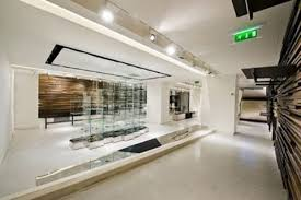 ... store was show the complete and amazing look of the public space with  minimal style. Now, please welcome these modern dress store designs  landscape.