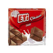 Eti Sütlü Kare Çikolata 70 G - Migros