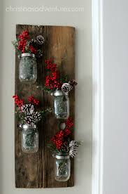 Mason Jar Decorations For Christmas Christmas mason jar decoration Christinas Adventures 54