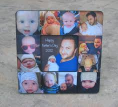 baby collage frame personalized father s day picture frame unique baby s first year