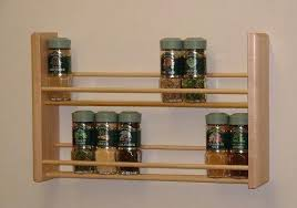 Wooden Spice Rack Wall Mount Gorgeous Wall Mounted Spice Racks Wooden Spice Rack Wall Mount Wall Mounted