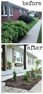 diy exterior house painting brick this house undergoes am awesome simple great curb appeal love the