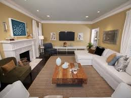 Decorating Rectangular Living Room Model Interesting Decorating Ideas