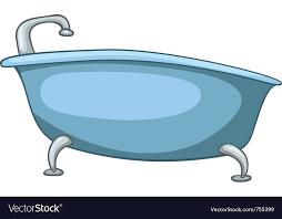 cartoon pictures of a bathtub ideas