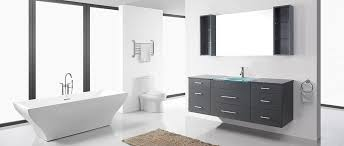a floating or wall mounted vanity will be a good option since it will be able to adjust it to a neutral height so that both s and kids can use it
