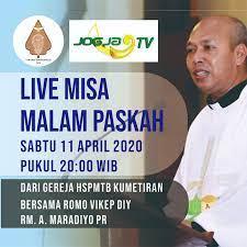 Jadwal misa tvri 2021 / difuzează numeroase emisiuni despre politică, societate, economie şi alte aspecte ale vieţii sociale. Jadwal Live Streaming Misa Pekan Suci 2020 Keuskupan Agung Semarang