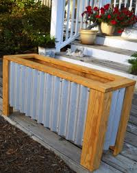 outdoor planter boxes. Build A Patio Planter Outdoor Boxes M