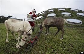 Santas Reindeer Names List From Night Before Christmas Poem