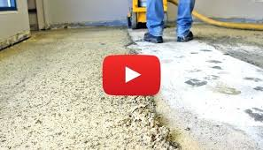 remove glue from concrete floor how