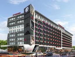 Qiaokeli Hotel Facade Design Xinjiang
