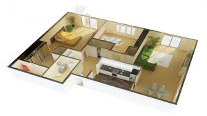 Small Two Bedroom House Plans 2 Bedroom House Plans With Open Floor Plan Escortsea